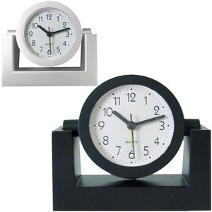 Desk Top Variable Angle or Swivel Alarm Clock