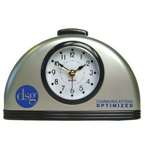 Dome Shaped Desk Alarm Clock with Snooze and Light